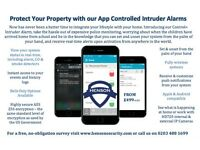 iPhone & Android Controlled Intruder & Burglar Alarms