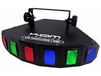 KAM LED-HEXAFLOWER DJ / DISCO LIGHT