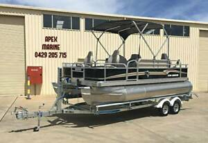 2020 SEEKER 18F FISHING / CRUISE PONTOON Moss Vale Bowral Area Preview