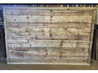 🦋 Pressure Treated Wayneylap Wooden Garden Fence Panels