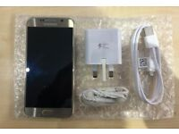 SAMSUNG S6 GOLD/ VISIT MY SHOP. /UNLOCKED / 32 GB/ GRADE A / WARRANTY + RECEIPT