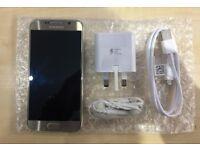 SAMSUNG S6 GOLD/ VISIT MY SHOP./ UNLOCKED / 32 GB/ GRADE A / WARRANTY + RECEIPT