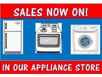 Home Package Deal Fridge Freezer Washing Machine & Gas / Electric Cooker £380