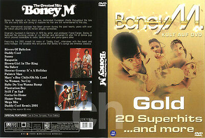 BONEY M - The Greatest Hits / GOLD (20 Superhits ...and More) (1999)  DVD NEW