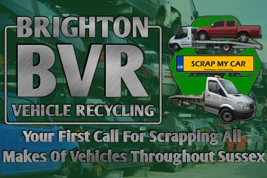 All Scrap Vehicles Collected Throughout Sussex / Cars,