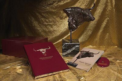 El toro en el arte. Escultura de Cabeza de toro por Nacho Martín