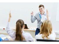 Experienced Maths,Science & English Teachers- GCSE ,KS3,KS2,KS1 & Early year stages.