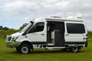 2018 Mercedes 4×4 Automatic Safari Motorhome with Shower & Toilet Albion Park Rail Shellharbour Area Preview