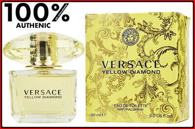 Yellow Diamond Perfume by Versace 3.0 oz EDT for Women New Sealed Box