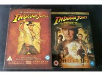 Indiana Jones the complete DVD movie collection