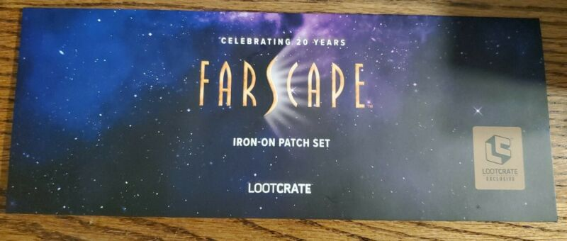 Farscape 20 Years Patch Set Lootcrate Exusive Rare