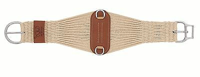 SMART GIRTH CINCH WEAVER LEATHER WESTERN MOHAIR 27 STRAND ROPER HORSE TACK 28""