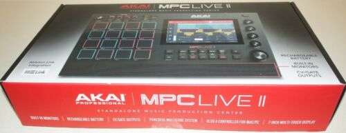 New Akai Professional MPC Live II Standalone Sampler and Sequencer - Black
