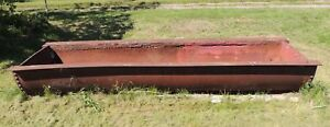 Cattle Steel Trough 15'
