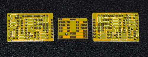Discrete dual opamp Earth bare PCB JFET input /output  high biasing current !