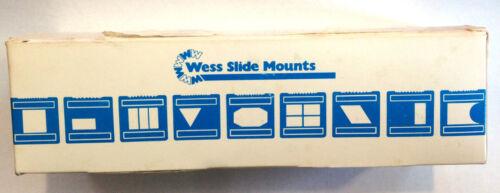 2X2 SUPER SLIDE MOUNTS (S-2) FOR MEDIUM FORMAT....50 IN BOX, never used