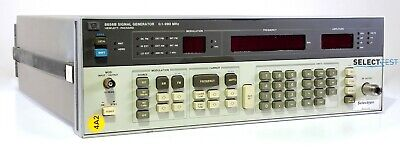 Agilent Hp 8656b 100 Khz To 990 Mhz Signal Generator Look Ref. 276g