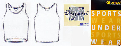 Gonso Herren Rad-Shirt / Rad-Unterhemd CARLO | ärmellos