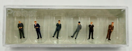 PREISER TT SCALE 75032 BUSINESS PEOPLE FIGURE SET