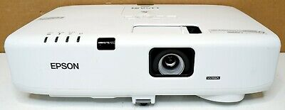 Epson PowerLite D6155W WXGA 3LCD Projector 1280x800 3500 Lumens Lamp Hours: READ
