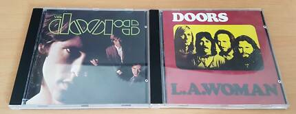 The Doors - The Doors & L.A. Woman CDs (1980's Issues)