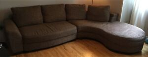 Large sectional sofa couch!