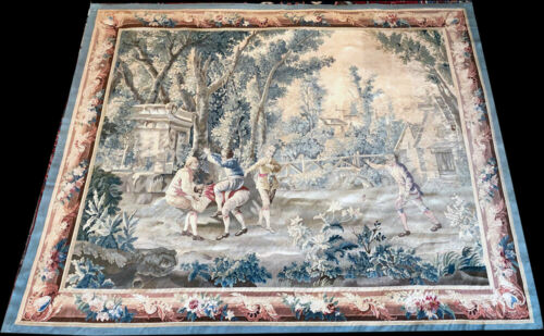 An Astonishing 19th Century Wall Hanging French Tapestry