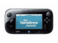 Nintendo Wii U with games on SD Card Low firmware