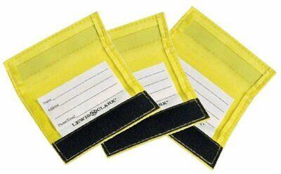 Luggage Handle Wrap - Lewis N. Clark Luggage Identifiers Handle Wraps, 3-Pack Set of Yellow #198YEL