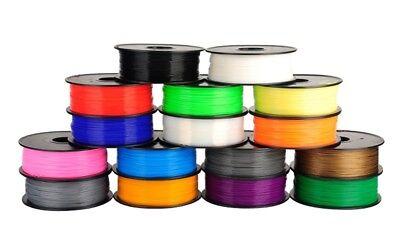 Alle Drucker (PLA ABS  UVM. FILAMENT 3D-DRUCKER - 1,75 und 2,85mm - ALLE FARBEN - TOP QUALITÄT)