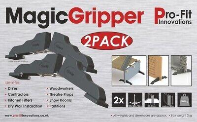 Magic Gripper Door Clamp Pro Version Dial Adjust - Pack of 2