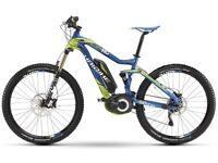 Electric Bike Professional Front/Rear Suspension Mountain Bike