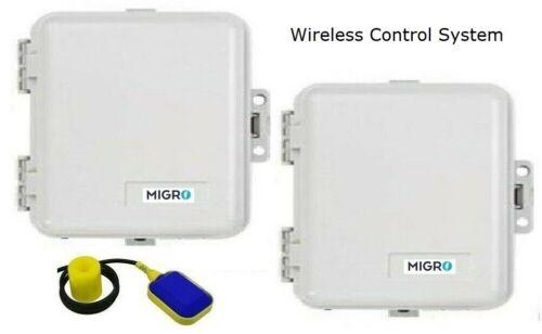 Wireless Pump Control 2CH Radio Remote Water Tank Level, Gate FREE Float Switch
