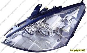 Head Light Driver Side [2002-2004 Exclude 2004 Svt] High Quality Ford Focus