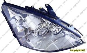 Head Light Passenger Side [2002-2004 Exclude 2004 Svt] High Quality Ford Focus