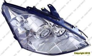 Head Lamp Passenger Side [2002-2004 Exclude 2004 Svt] High Quality Ford Focus