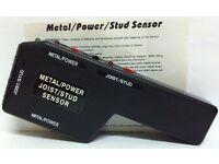 STUD SENSOR - METAL / POWER / JOIST (vgc & gwo) - bargain for £ 10