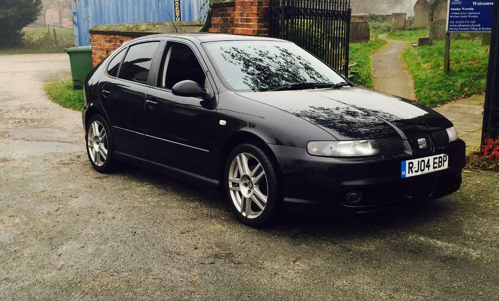 seat leon cupra r 1 9 tdi black 2004 pd 150 in littleover derbyshire gumtree. Black Bedroom Furniture Sets. Home Design Ideas