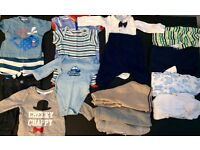 0-3 Months Baby Boys Clothes Bundle