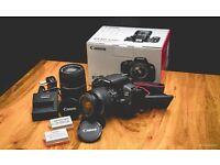 Canon EOS 650D DSLR Camera Bundle £380