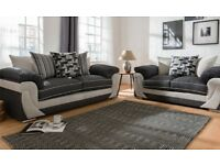 New Hannah 3+2 seater sofas FREE DELIVERY