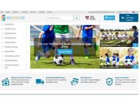 Football Gear , Kits & Equipment Dropshipping Business For Sale