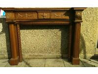 Fire surround - solid wood