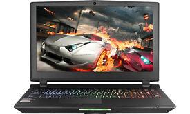 Gaming Laptop, i7, GTX 980m, 16GB Ram, 256GB m.2 SSD, 1TB HDD, backlit keyboard, 2 years on warranty