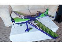 MX2 1400mm Radio Control (RC) EPO stunt plane