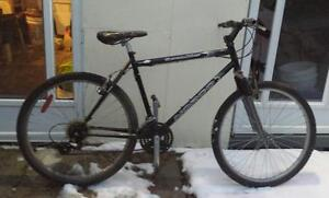 "Mountain Bike for Sale FRONT SUSPENSION, 21 spd, 18,5-""FRAME, 26X195""-TIRES, NORC SCRAMBLER"
