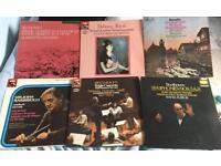 6 STRING QUARTET CLASSICAL LP's. HMV, EMI, DECCA, PHILIPS,MELODIYA.