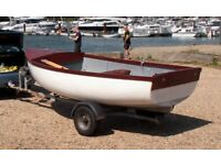 Lovely 12ft dinghy and trailer for sale or Part-ex