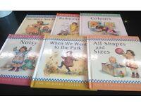 Shirley Hughes nursery collection HB children's book set
