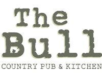 FULL TIME BAR & RESTAURANT STAFF REQUIRED FOR THE BULL BRENTWOOD